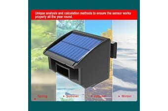 Solar Driveway Alarm System 1/4 Mile Long Range Outdoor Motion Sensor
