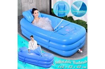 Bathtub Inflatable Tub Portable Travel Bath Adult Spa Pool PVC Bathtub Folding Pool