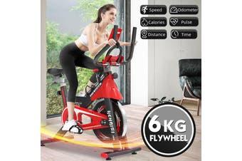 Heimtrainer Spinning Bikes Schwungrad Indoor Fitness Fahrrad Trimmrad 150kg Gym