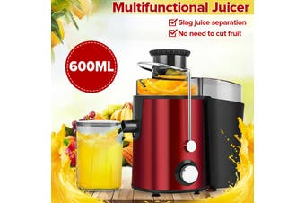 AUGIENB 600ml Fruit Juice Blender Electric Portable Juice Extractor Maker Machine Blender Jug Juicer Heavy Duty Electric Mixer 1000W 12000Rpm Fast Stirring / Easy to Clean