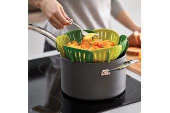 Bloom Non-Scratch Steamer Basket | Official Joseph Joseph Product