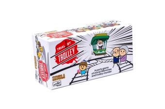 Fun Trial by Trolley Party Game   Cyanide & Happiness