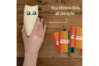Throw Throw Burrito | A Dodgeball Card Game