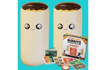 Hilarious Throw Throw Burrito | EXTREME Outdoor Edition
