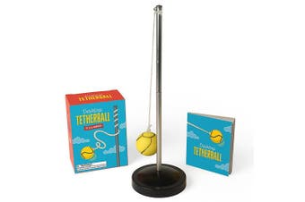 Mini Desktop Tetherball Kit With Mini Book