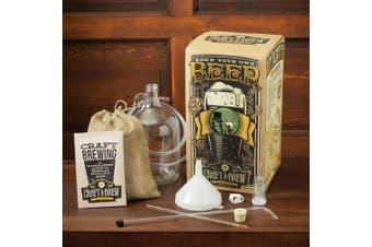 Bone Dry Irish Stout Brewing Kit   Craft A Brew