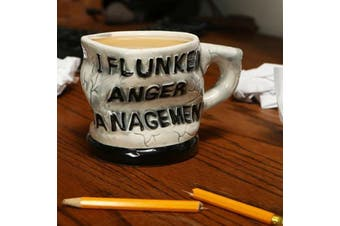 I Flunked Anger Management Mug | mean cup goblet tumbler drink beaker
