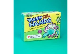 Wash Your Damn Hands! Novelty Soap