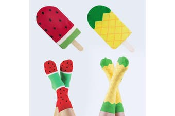 Doiy Fruit Icepop Socks - Pineapple