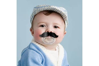 Chill, Baby Hilarious Moustache Novelty Pacifier Dummy | Fred