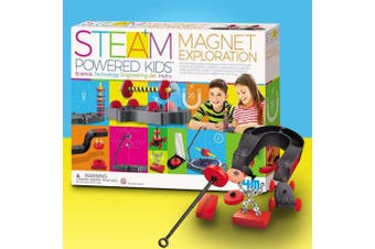 Fun Magnet Exploration Kit - Over 20 Experiments for Kids!