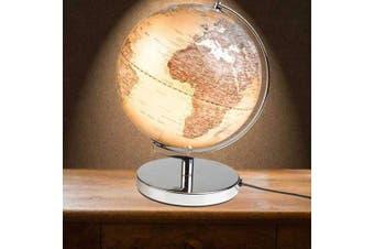 Gentlemen`s Hardware 25cm LED Executive World Globe Lamp Light