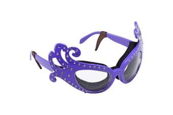 Fancy Onion Glasses - Purple