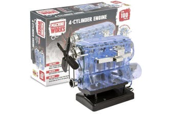 Machine Works 4-Cylinder Engine Kit With Sound!