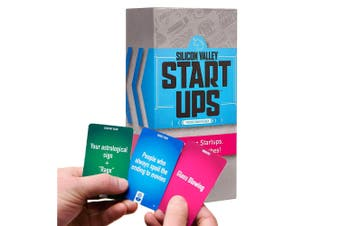 Fun & Unique Silicon Valley Start Ups Party Card Game
