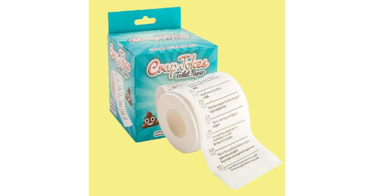 Dick Smith Crap Jokes Funny Novelty Toilet Paper Roll Gift Gadgets Novelties