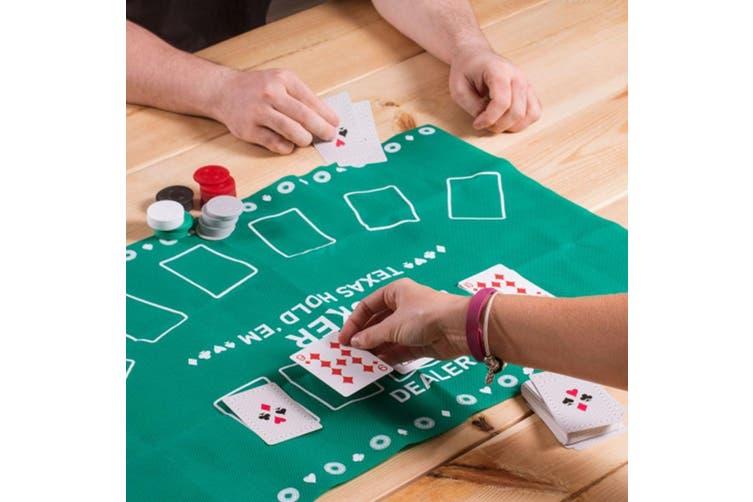 Dick Smith Mini Texas Hold Em Desktop Poker Set Cards Chips Playing Mat Toys Hobbies Wholesale Bulk Lots Gadgets Novelties
