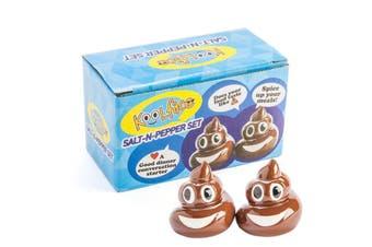 Smiling Poo Emoji Salt & Pepper Shakers