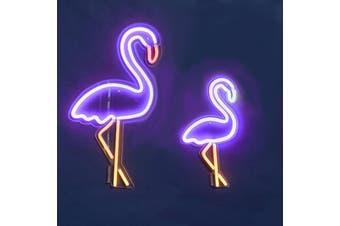 Sunnylife Vegas Flamingo LED Neon Wall Lights - Small (40 cms high)