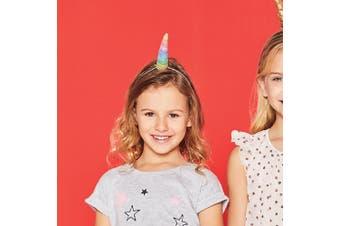 Kids Rainbow Glitter Unicorn Dress-Up Costume Horn | Sunnylife