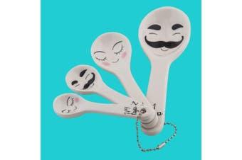 Cute Lia & Leo His & Hers Measuring Spoons