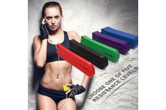 Resistance Band Exercise Stretching All 5 Combo