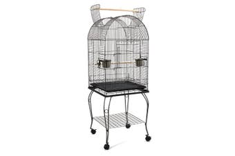 150 cm Bird Budgie Cage with Stand Alone Budgie With Perch
