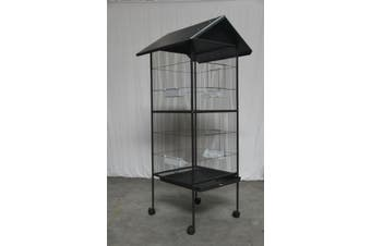 160 cm Large Bird Cage Parrot Aviary Pet Stand-alone Budgie Cage