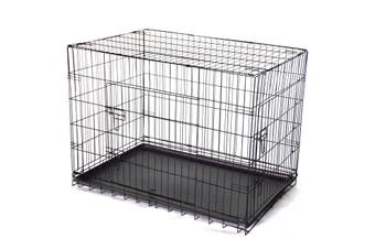 48' Collapsible Metal Dog Cat Crate Cat Cage