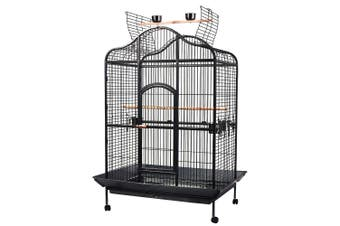 183 cm XL Bird Cage Pet Parrot Budgie Aviary with Perch