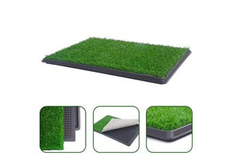 Extra Large Indoor Dog Puppy Toilet Grass Potty Training Mat Loo Pad pad 76 X 51 cm