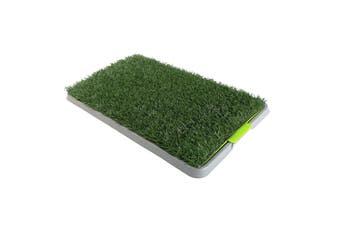 Indoor Dog Puppy Toilet Grass Potty Training Mat Loo Pad pad 68 X 43 cm