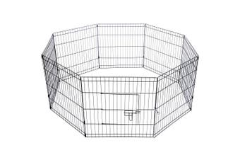24' Dog Rabbit Playpen Exercise Puppy Enclosure Fence