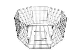 30' Dog Rabbit Playpen Exercise Puppy Enclosure Fence