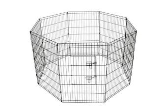 36' Dog Rabbit Playpen Exercise Puppy Enclosure Fence