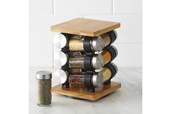 Spice Jar Set with Rack 12pce