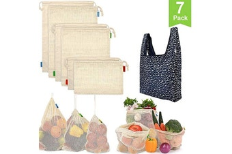 Reusable Produce Bags(7 Pack)