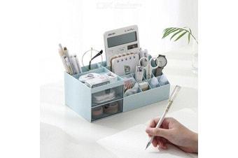 Multi-purpose Desk Organizer-sky blue