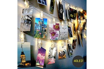 Clips Fairy Lights for Picture Hanging