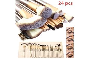 Professional Makeup Brush Set, 24 Pcs