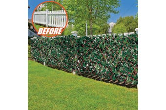 INSTANT PRIVACY HOME DECOR FENCE PREMIUM WILLOW ARTIFICIAL LEAVES