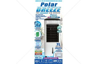 POLAR BREEZE 7L - AIR COOLER - HUMIDIFIER - AIR PURIFIER - FAN