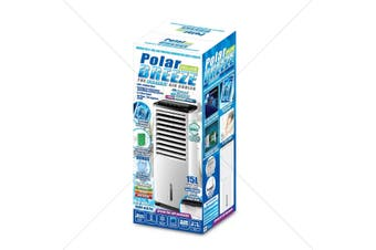 POLAR BREEZE DELUXE 15L - AIR COOLER - HUMIDIFIER - AIR PURIFIER - FAN