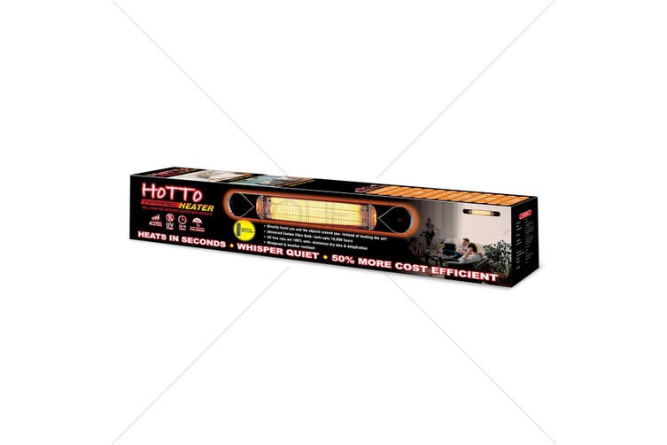 Hotto Infrared Heater - UV FREE Indoor & Outdoor Carbon Fibre Bulb