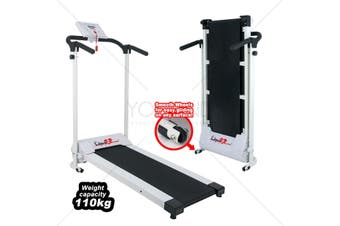 Walk2Lose Treadmill 1-10km/h & 110kg capacity 6 pre set modes
