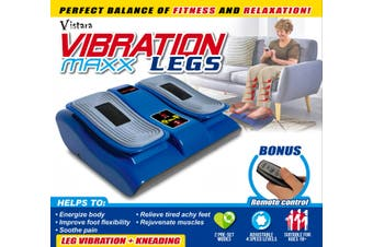Vibration Maxx Legs - Massage & Vibration All In One