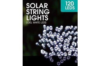 Cool White Solar String Lights 2M 120LED's Home, Office etc. Decoration