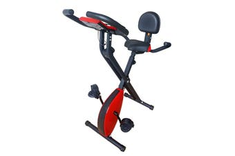 Foldable Magnetic Exercise Bike With 8 Magnetic Resistance Levels