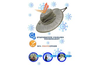 Polar Wide Brim Cooling Hat With Ultimate UV Protection