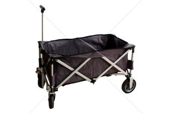 Collapsible Wagon Cart For Gardening, Grocery, Garage, Beach, Picnic and More!!!